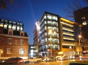 Hidroizolatii la terasa, balcoane si curte interioara – Imobil Birouri