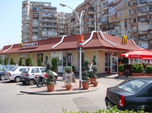 Izolatii terase restaurant Mc Donald's - Dristor